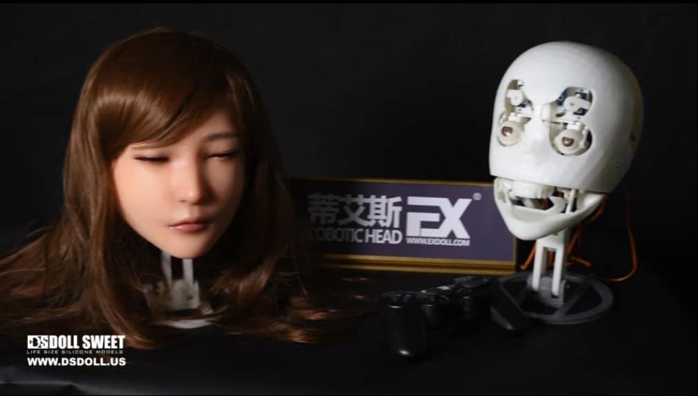 DS Doll Robotics Robotic Head