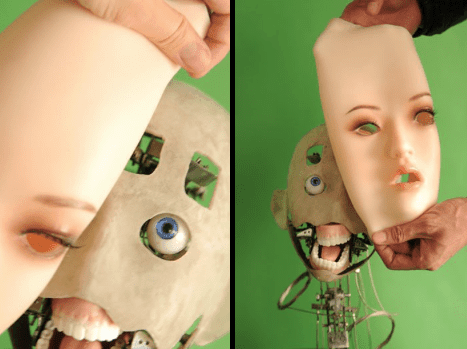 First Robotic Research at DS Dolls and EX Doll